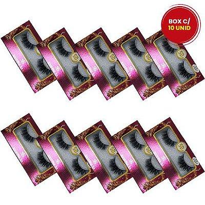 Cílios Postiços 5D-F007 Sabrina Sato SS-1382 - Box c/ 10 unid