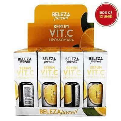 Sérum Vitamina C Lipossomada Beleza Juvenil – Box c/ 12 unid