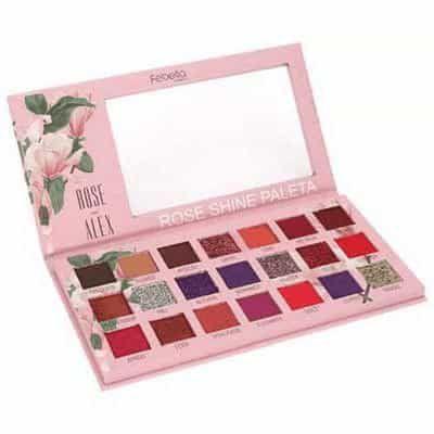 Paleta de Sombras Rose Shine 21 Febella PSO30315