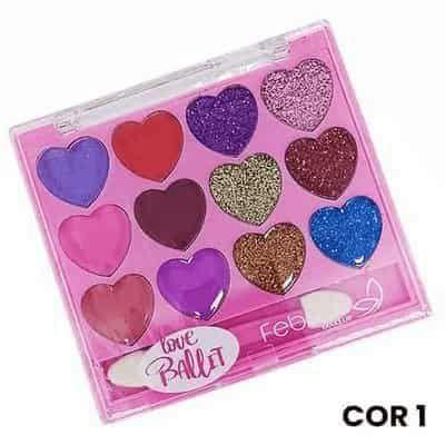 Paleta de Sombras Love Pallet Febella TPSO3037