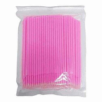 Microbrush Cotonete Alongamento Fio a Fio Cílios 100 unidades DF-3101