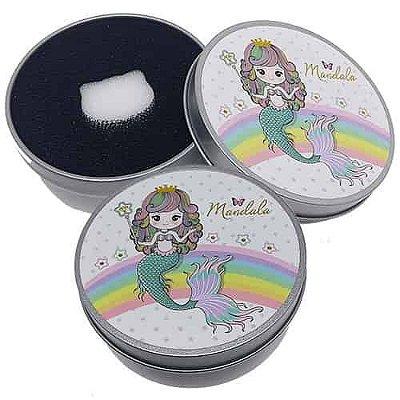 Esponja para Limpeza de Pincéis Mandala FP-074