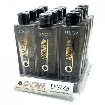 Adstringente Carvão Ativado Fenzza FZ36003 - Box c/ 12 unid