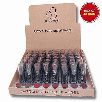 Batom Bastão Matte Fashion Belle Angel A001 – Box c/ 48 unid