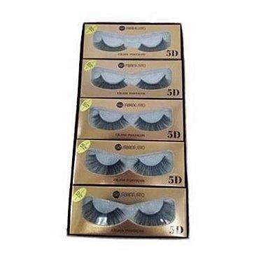 Cílios Postiços 5D Sabrina Sato SS-572 – Box c/ 10 unid