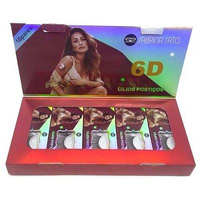 Cílios Postiços 6D-88 Sabrina Sato SS-788 – Box c/ 10 unid
