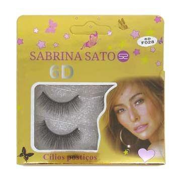 Cílios Postiços 6D-F028 Sabrina Sato SS-806