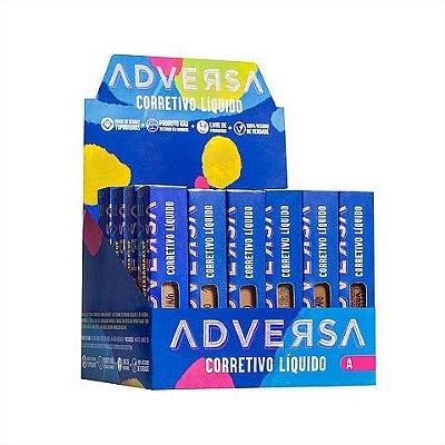Corretivo Líquido Oil Free Vegano Adversa AD112 - Box c/ 24 unid