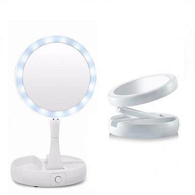 Espelho Articulável Led 2 Lados Interponte HJ64521