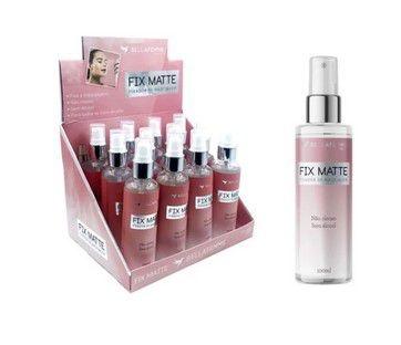 Fixador de Maquiagem Fix Matte Bella Femme BF10075 - Box c/ 12 unid