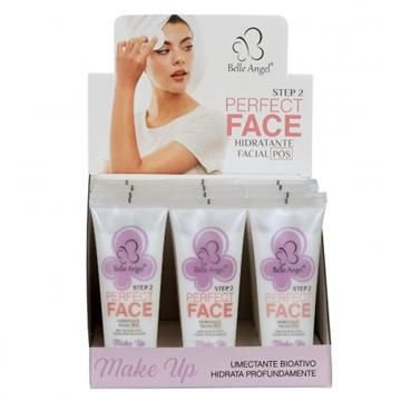 Hidratante Facial Pós Maquiagem Perfect Face Belle Angel – Box c/ 12 unid