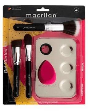 Kit para Maquiagem Get Started Macrilan KP10-1