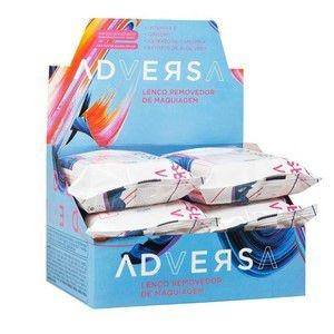 Lenço Demaquilante Adversa AD401 - Box c/ 06 unid