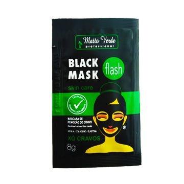 Máscara Black Mask Matto Verde - Pcte c/ 10 unid