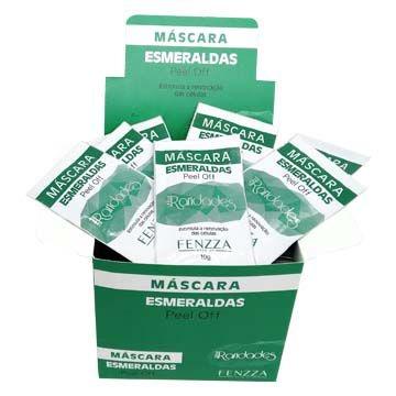 Máscara Esmeraldas Peel Off Linha Raridades Fenzza FZ38012 – Box c/ 50 unid