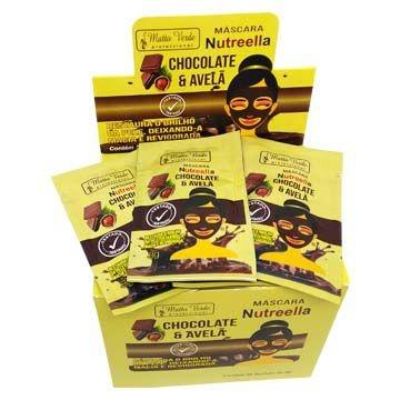 Máscara Facial Nutreella Matto Verde – Box c/ 50 unid