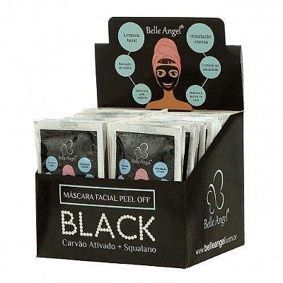 Máscara Facial Peel Off Black Belle Angel I013 – Box c/ 50 unid