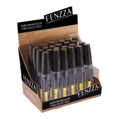 Máscara para Cílios Incolor Faces Fenzza MA92 - Box c/ 24 unid