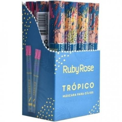 Máscara para Cílios Trópico Power Volume Ruby Rose HB-501 - Box c/ 12 unid