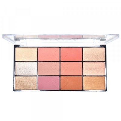 Paleta de Blush e Iluminador Artist Cheek Ruby Rose HB-7219
