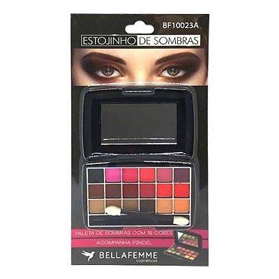 Paleta de Sombras com 18 cores Bella Femme BF10023A