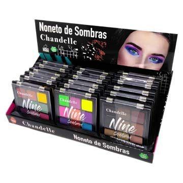 Paleta de Sombras Noneto Chandelle - Box c/ 18 unid
