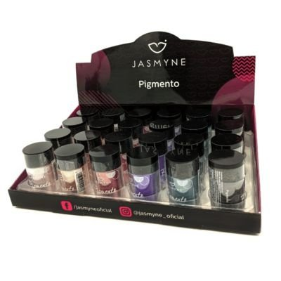 Pigmento para os Olhos Jasmyne JS01012 – Box c/ 24 unid
