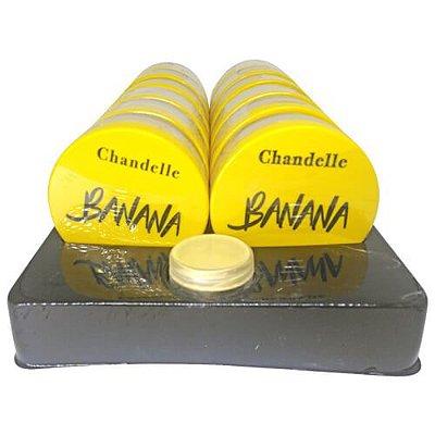 Pó Facial Banana Chandelle - Box c/ 12 unid