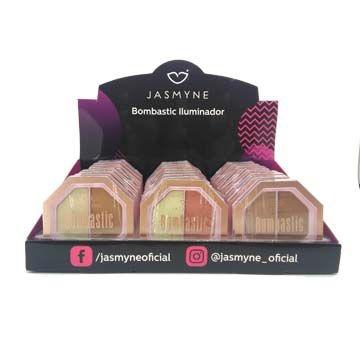 Pó Iluminador Bombastic Jasmyne JS06022 – Box c/ 24 unid