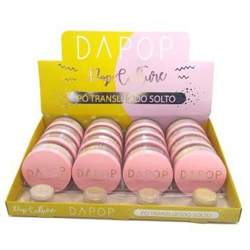 Pó Translúcido Solto Dapop DP2029 – Box c/ 16 unid