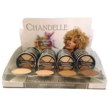 Quarteto de Corretivos Chandelle - Box c/ 24 unid
