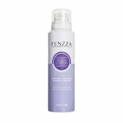 Sabonete Mousse Facial de Limpeza Fenzza Make Up FZ50006