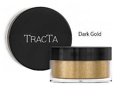 Sombra Glitter em Pó Cor Dark Gold Tracta