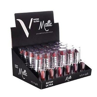Batom Ultra Matte Vivai 3053.4.1 - Box c/ 24 unid