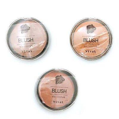 Blush Alta Cobertura Best Seller Vivai 1067 – Kit c/ 03 unid