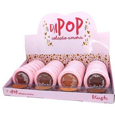 Blush Facial Coleção Amora Dapop DP2012 – Box c/ 24 unid