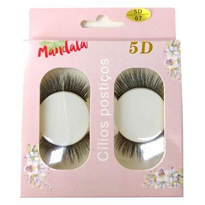 Cílios Postiços 5D-07 Mandala DF-2275 – Box c/ 10 unid