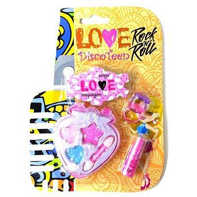 Estojo de Maquiagem Infantil Disco Teen HB86508 – Kit c/ 06 unid