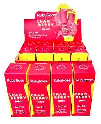 Gel Tint Cranberry Juice Ruby Rose HB-556 – Box c/ 12 unid