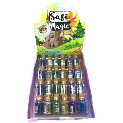 Glitter Safi Magic Safira – Box c/ 24 unid