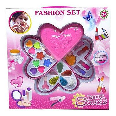 Kit de Maquiagem Infantil Beauty Sweet TX001/CB0005