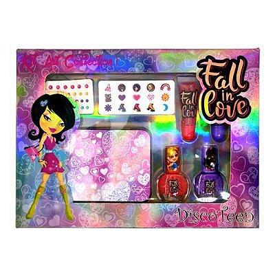Kit Maquiagem Infantil Disco Teen HB96759