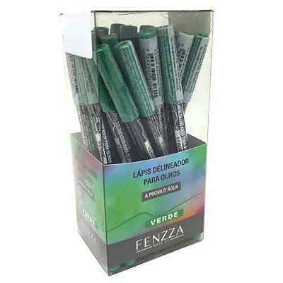 Lápis Delineador para Olhos Verde Fenzza FZ14007 – Box c/ 24 unid