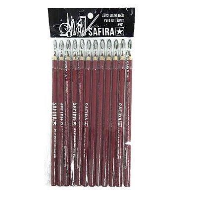 Lápis para Contorno Labial c/ Apontador Nº 01 Safira – Pcte c/ 12 unid