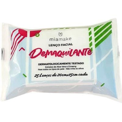Lenço Demaquilante Mia Make 182 – Box c/ 24 unid
