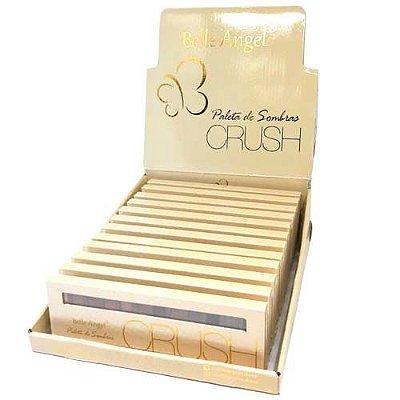 Paleta de Sombra Crush Ouro Belle Angel T004 - Box c/ 12 unid