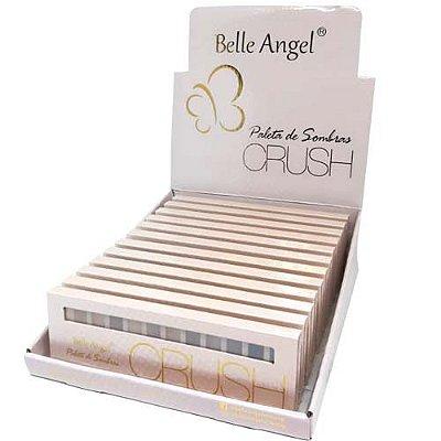 Paleta de Sombra Crush Rose Belle Angel T004 - Box c/ 12 unid