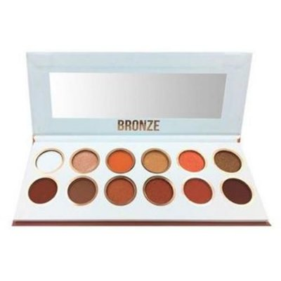 Paleta de Sombras Bronze Tons Rose Gold Premium Collection Bella Femme BF10059