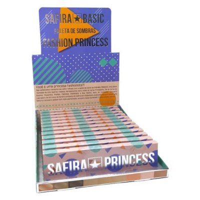 Paleta de Sombras Fashion Princess Safira – Box c/ 12 unid