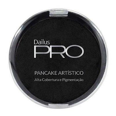 Pancake Artístico Cor Preto 02 Dailus Pro – Caixa c/ 06 unid